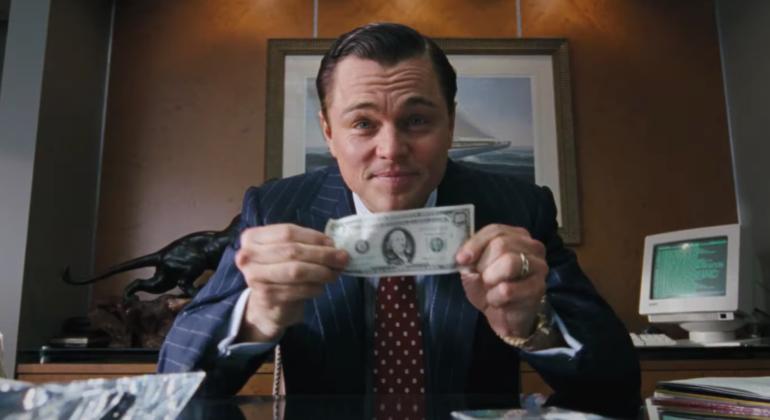 Leonardo DiCaprio w filmi Wilk z Wall Street