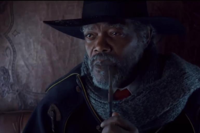 Samuel L. Jackson w filmie Nienawistna ósemka