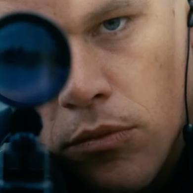 Matt Damon w roli Jasona Bourne