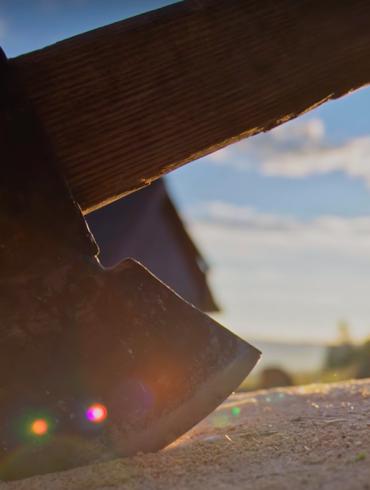 Kadr z filmu dokumentalnego Ostatni górale